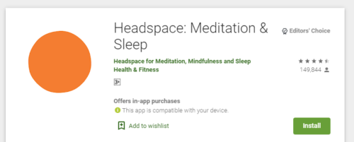 Headspace app download